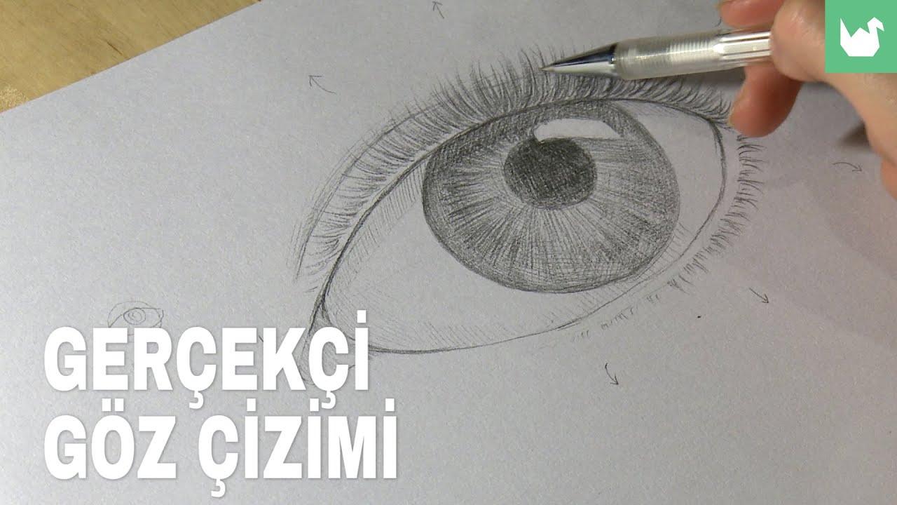 2 Gerçekçi Göz çizimi