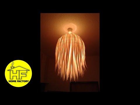 Kako napraviti prekrasnu lampu/luster! SUPER JEDNOSTAVNO!!!