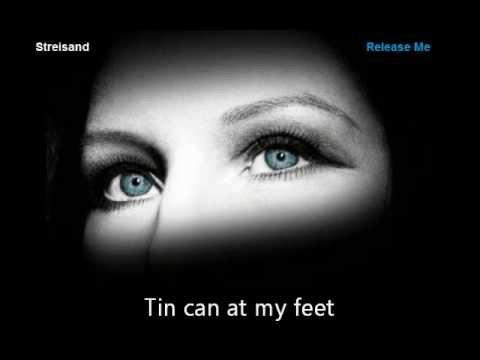 Barbra Streisand - I think it's going to rain with lyrics - New single 2012