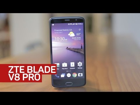 basic family zte blade v8 youtube closer look the