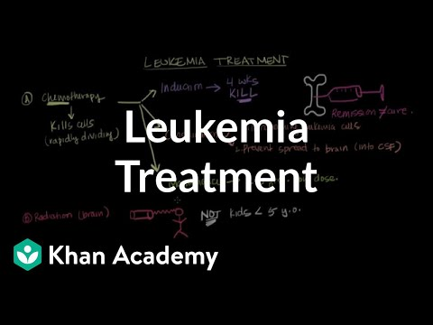 Leukemia treatment | Hematologic System Diseases | NCLEX-RN | Khan Academy