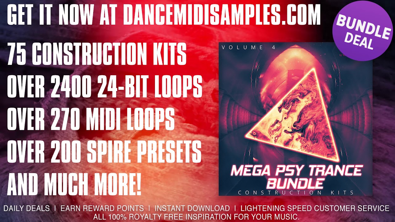 Psytrance Loops & Samples: Mega PSY Trance Bundle Volume 4