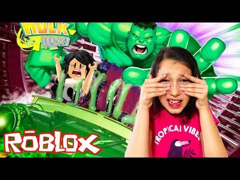 VISITANDO O PARQUE UNIVERSAL STUDIOS - Roblox (Universal Studios) | Luluca Games