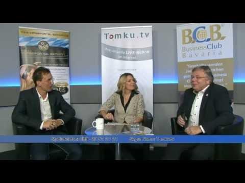 Livestream bei TomkuTV - WERBEPORTAL BAYERN & BUSINESS CLUB BAVARIA Oktober 2014