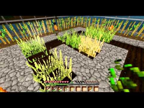 Let's Show| Minecraft Getreide+Zucker Farm/Gewächshaus | HD
