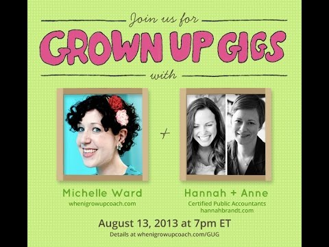 Grown Up Gigs with CPAs Hannah Brandt & Anne Lewis
