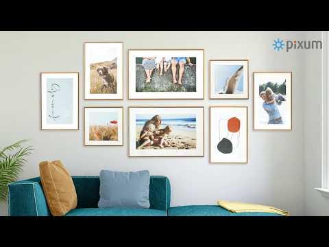 Come decorare la tua parete: idee per la disposizione dei quadri | Pixum