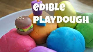 How to Make Colorful Edible Playdough - Marshmallow Fondant