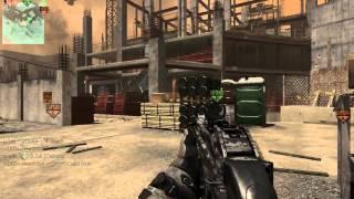 UMP45 Racha MW3 mejor arma mejor clase Gameplay español HD