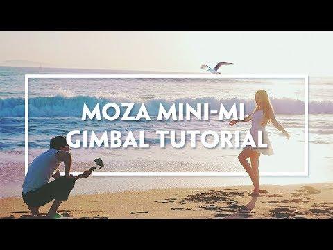 MOZA Mini-MI Official Tutorial Part I-Gimbal Operation