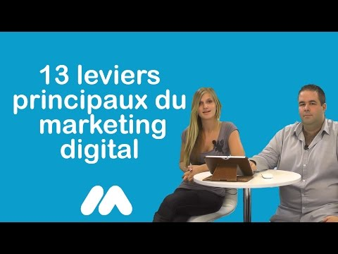 Webmarketing - 13 leviers principaux du marketing digital - Tuto Market Academy Guillaume & Sophie