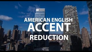 Английский Американский акцент. Урок 1