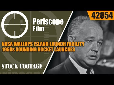 NASA WALLOPS ISLAND LAUNCH FACILITY 1960s SOUNDING ROCKET LAUNCHES 42854