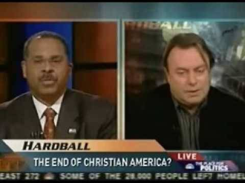 CHRISTOPHER HITCHEN DISEMBOWELS KEN BLACKWELL - THE END OF CHRISTIANITY