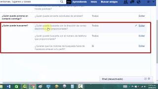 Por tu SEGURIDAD, EVITA ser ENCONTRADO en Facebook... ¡¡PROTÉGETEEE!!.