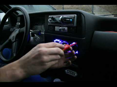 Armaturen Beleuchtung   Led Polo Armaturenbeleuchtung Youtube