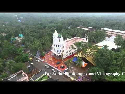 Tamilnadu Helicam Drone Aerial Shoot Church Mulagumoodu Video