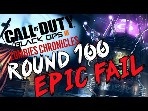 "Black Ops 3: ""ROUND 100 ATTEMPT"" - ZOMBIE CHRONICLES *LIVESTREAM* w/ Syndicate!"