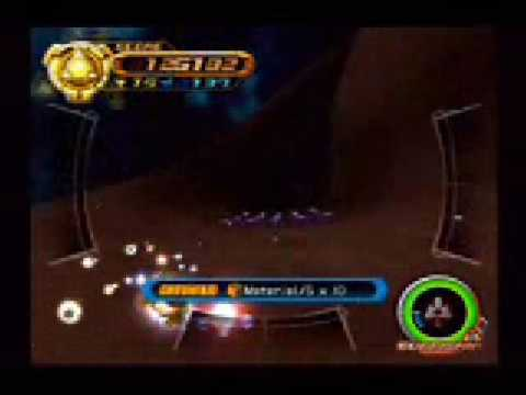 Kingdom Hearts II - Gummi Route 1 Asteroid Sweep