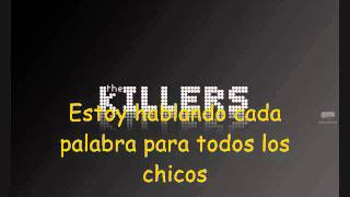 Glamorous Indie Rock n Roll   The Killers Subtitulada Español