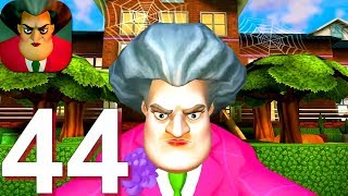 Scary Teacher 3D - Gameplay Walkthrough Part 44 New Halloween Update (Android, iOS Game)