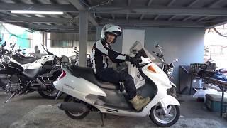 ホンダ:フォーサイト参考動画:腰をいたわる通勤バイク