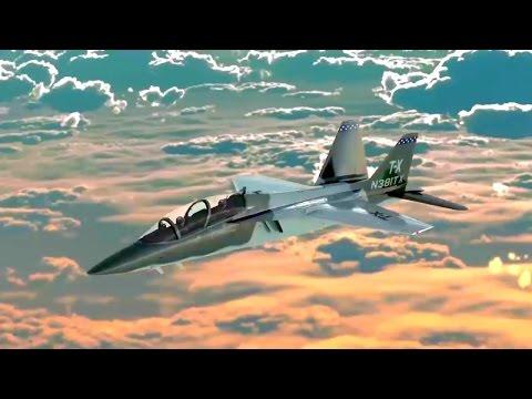 Boeing - T-X Advanced Trainer/Light Strike Aircraft Simulation [720p]