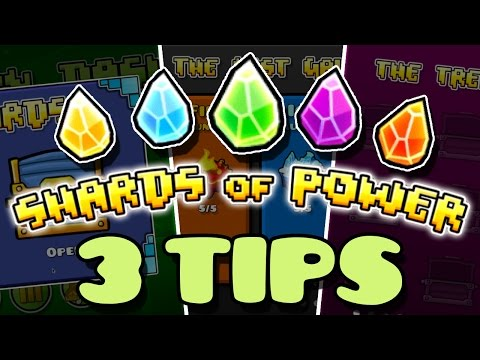 3 Tips: Shard Collecting | Geometry Dash