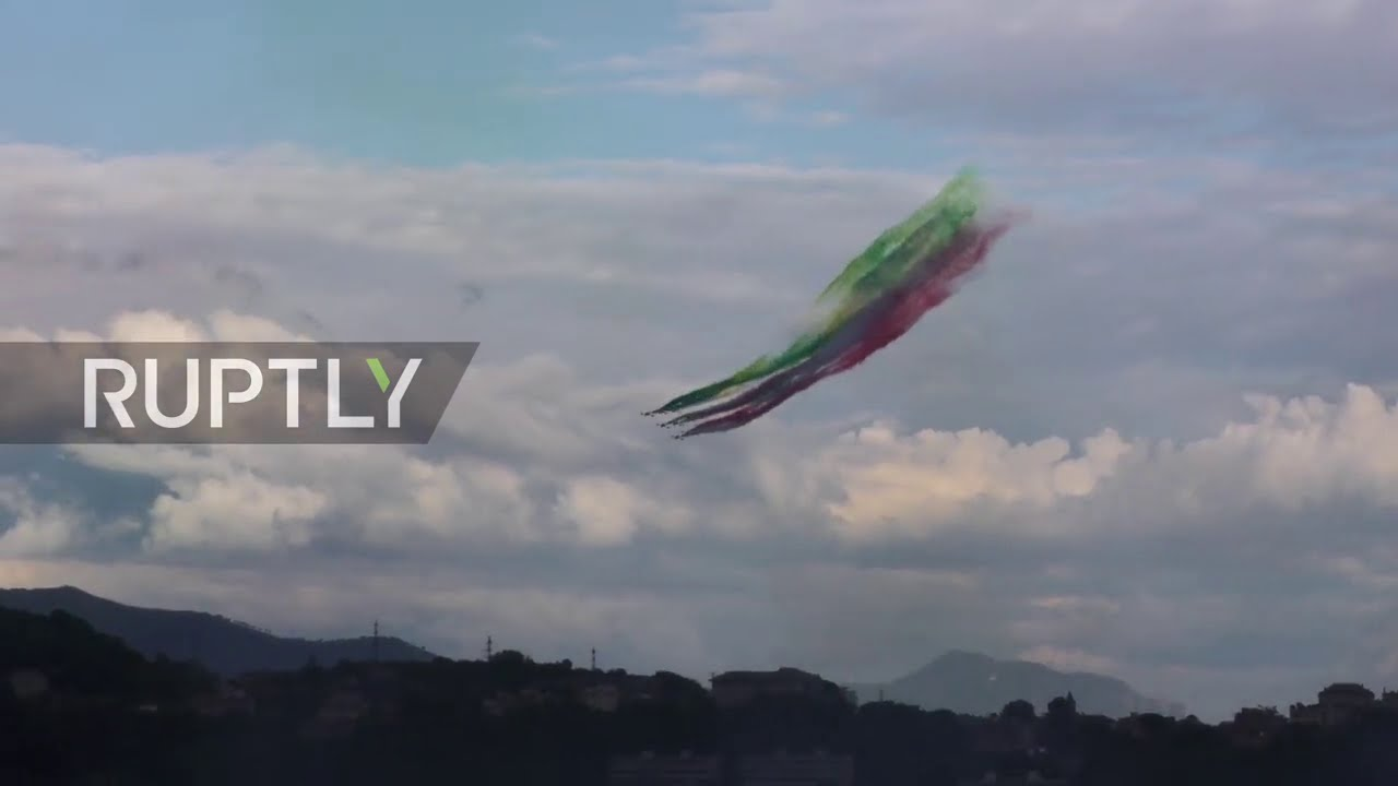 Italy: New bridge inaugurated in Genoa two years after tragic collapse