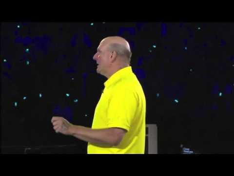 Steve Ballmer's Tearful Farewell Speech (2013)