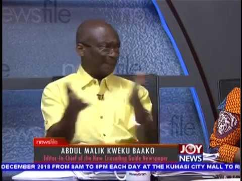 NDC Presidential Primaries & Matters Arising - Newsfile on JoyNews (8-12-18)