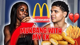 MCDONALDS MUKBANG w/ My Ex GIRLFRIEND...*I Want Her Back After This*💔