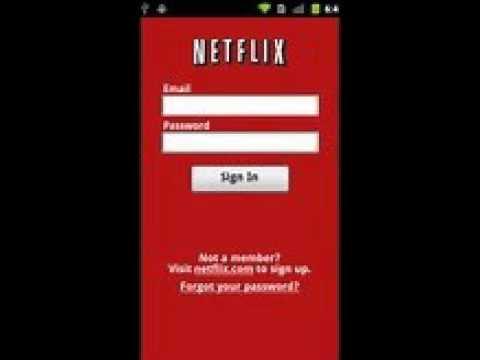 Netflix Member Sign