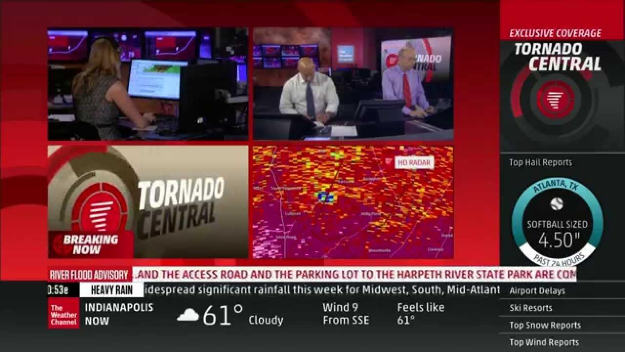 tornado coverage - april 28  2014  10-11pm