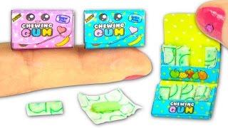 Miniature Kawaii Chewing Gum DIY (Edible!) - YolandaMeow♡