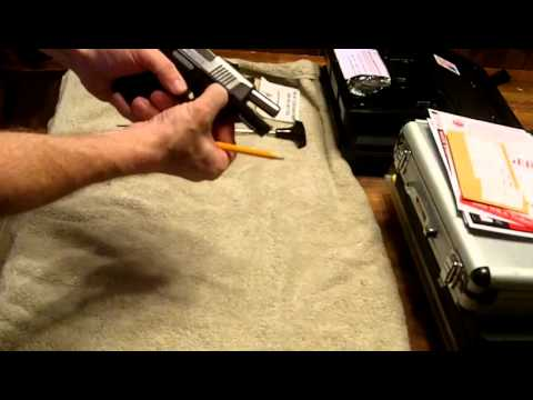 Disassembly of the Ruger SR9c