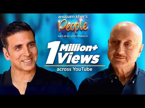 Anupam Kher's People with Akshay Kumar