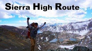 Sierra High Route - The Spine of The Sierra Mountain Range