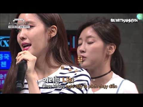 [BEWITHAHMVN][VIETSUB] (EUNJUNG CUT) 150911 A Song For You 4 - Ep.6 with T-Ara