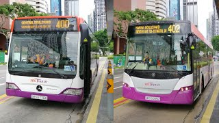 SBS TRANSIT | Route integration and discontinuation | Service 400 and 402 | SBS6776G / SBS5085Z