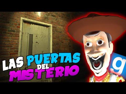 Las Puertas del MISTERIO | Gmod Funny Moments c/ Folli Zhander