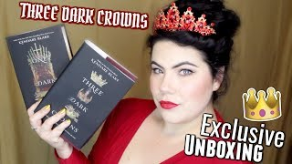 THEY MADE ME QUEEN | Three Dark Crowns Special Unboxing + GIVEAWAY!