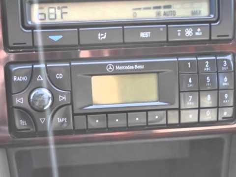 Brochure For Audio System 1999 C280 Mercedes Benz Forum