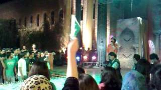 Jawad-Ahmed National Anthem @FAST-Lahore on event of Pakistan Day