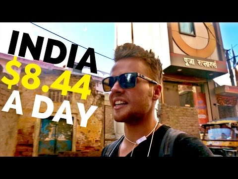 How to TRAVEL in INDIA on $8.44 a day