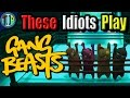 Fighting Your Friends! - Gang Beasts - Drunk Stream
