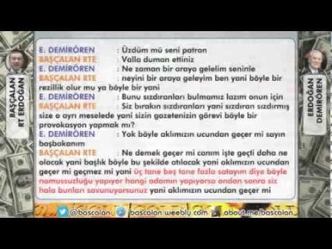 BAŞÇALAN Erdoğan, Milliyet'in Sahibi DEMİRÖREN'e Hakaret Ediyor