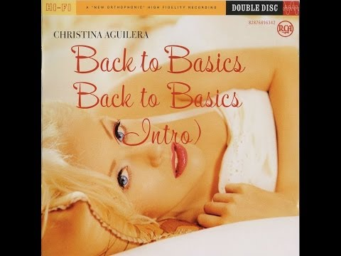 Christina Aguilara Back to Basics Album