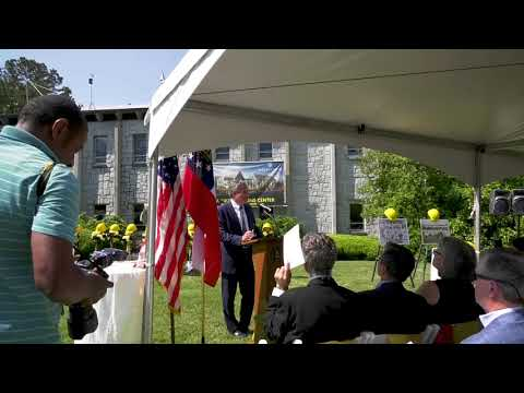 Cousins Center for Science and Innovation Groundbreaking