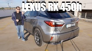 Lexus RX 450h 2016 hybrid SUV (ENG) - Test Drive and Review